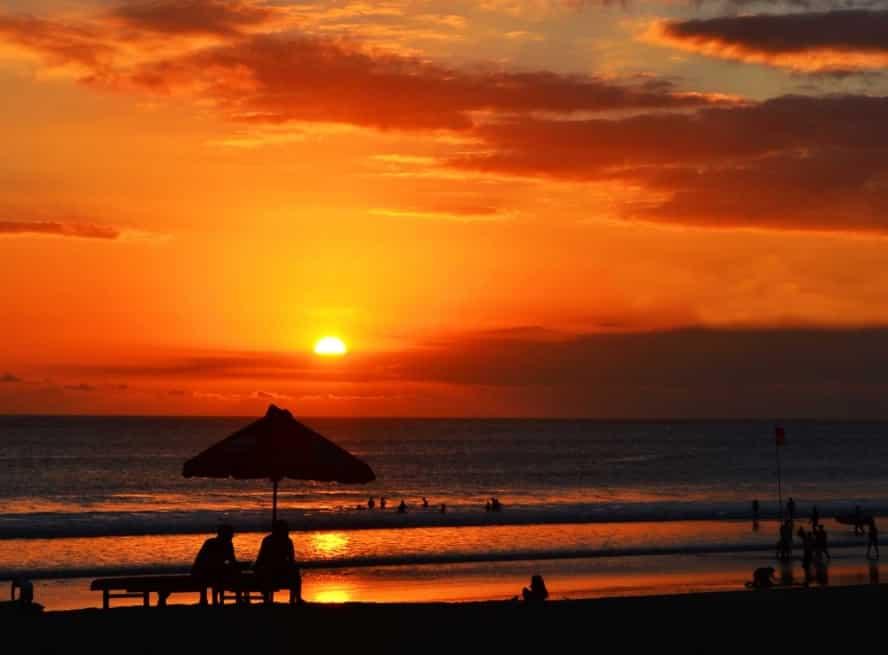 Pantai Lovina, Lovina Bali, Pantai, Bali, Pantai Lovina Bali, Sunrise