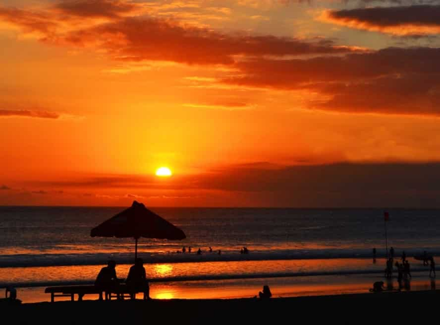 Pantai Kuta Bali, Pantai Kuta, Kuta, Pantai, Bali, Sunrise